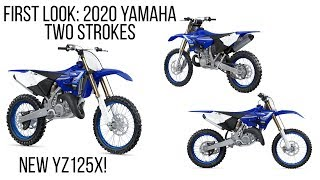 3. First Look: 2020 Yamaha YZ125X, YZ125, YZ250X, and YZ250 - Finally, a New Off-Road Two Stroke