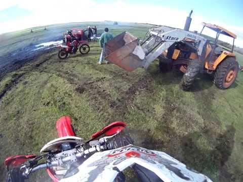 Trilha de moto em Palmeira das Missoes