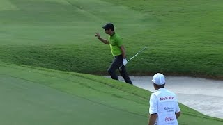 Paul Casey's wild bunker ride at the TOUR Championship by PGA TOUR