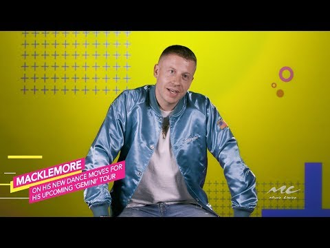 Macklemore Will Bust Moves On Gemini Tour