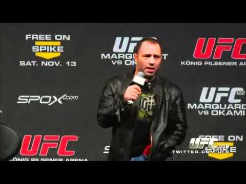 Joe Rogan get called a Bitch at UFC 122