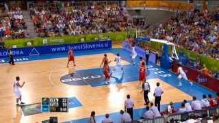Play of the Game N.Melli ITA-TUR EuroBasket 2013