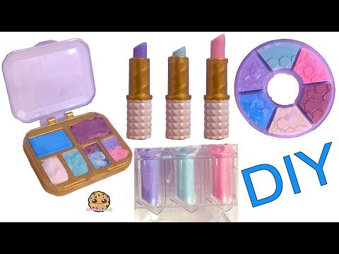 Make Your Own Lipstick Balm & Eyeshadow Makeup DIY Craft Do It Yourself