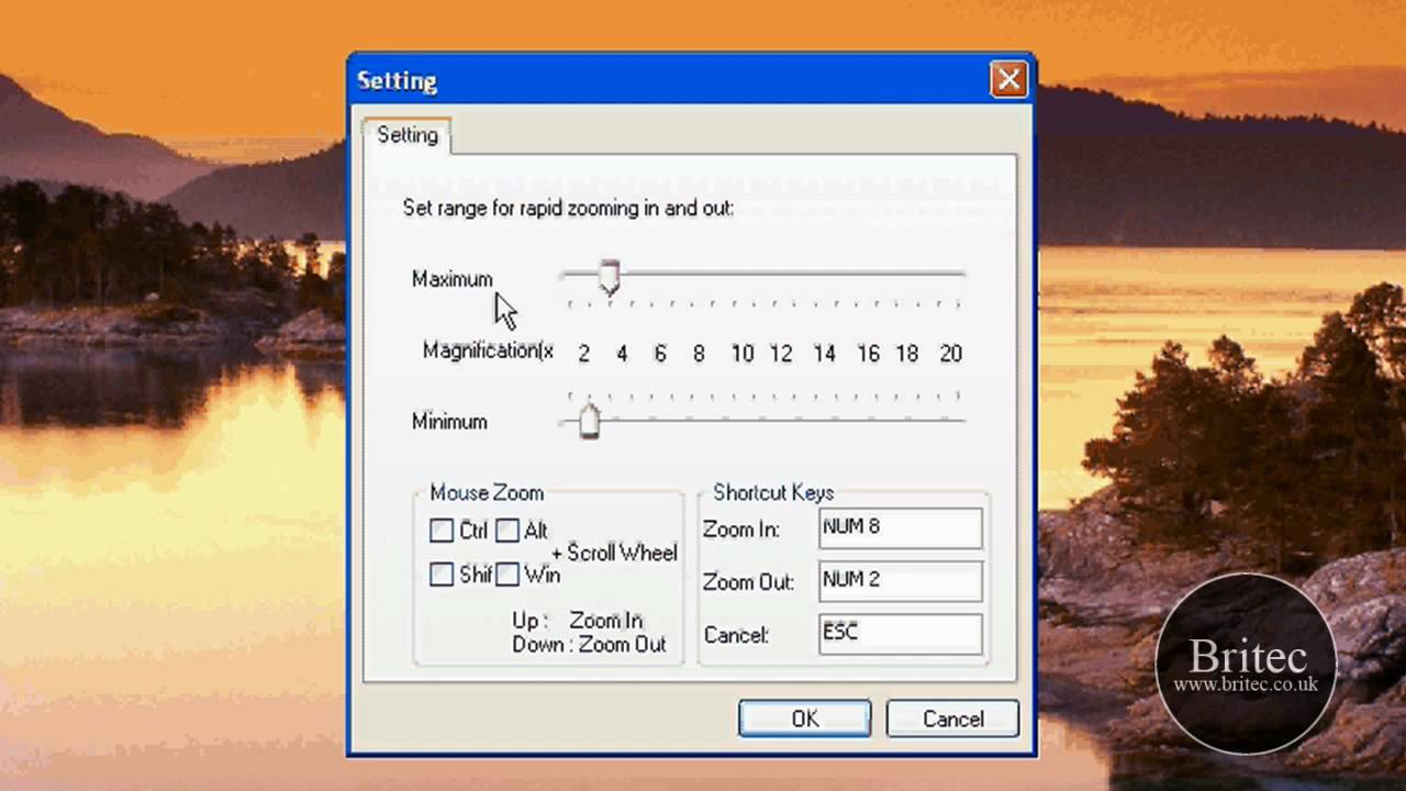 QZoom How to Zoom like Mac OS X in Windows XP or Vista by Britec