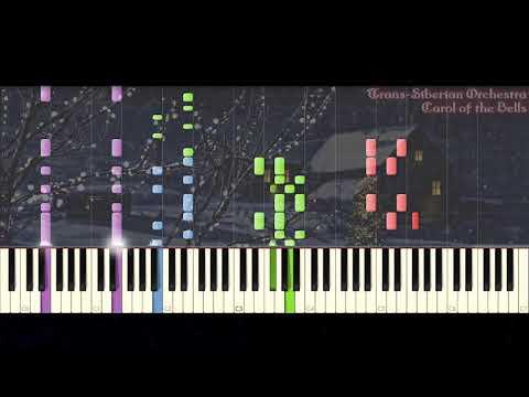 🎁 [Piano Arrangement] Trans-Siberian Orchestra - Carol of the Bells | BusiedGem 🎁