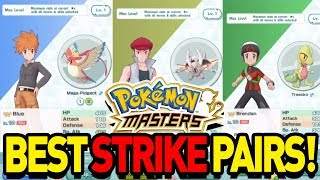 BEST STRIKE SYNC PAIRS in POKEMON MASTERS!1 by aDrive