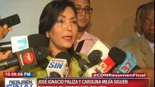 José Ignacio Paliza y Carolina Mejía siguen punteros en convención del PRM