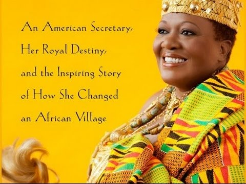 An American Secretary Becomes Female King of African Village