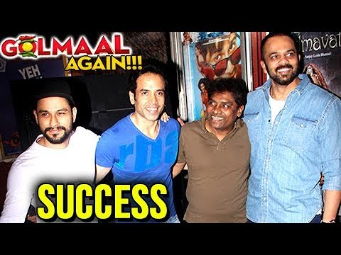 Golmaal Again Team Talk About Film's Success
