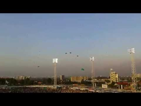 Homenaje al Chapecoense Estadio Monumental Colo Colo - Garra Blanca - Colo-Colo