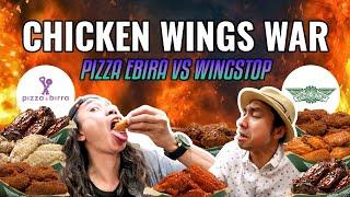 Video PERANG CHICKEN WINGS!!  EL Diablo (pizza ebira) VS Atomic Blast (wingstop) MP3, 3GP, MP4, WEBM, AVI, FLV Juni 2018
