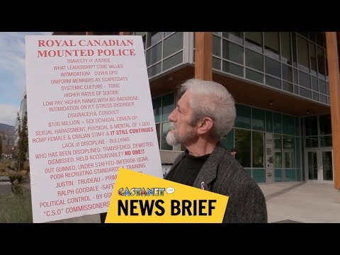 Protesting RCMP treatment