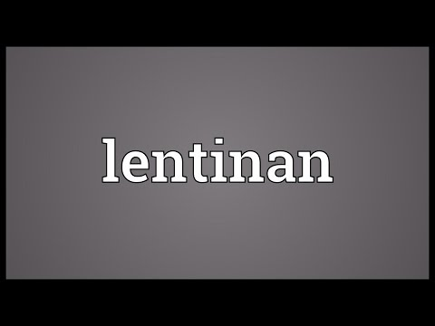 Lentinan Meaning
