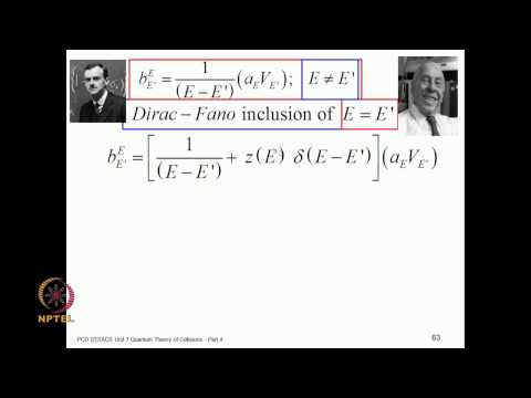 Mod-07 Lec-41 Discrete state embedded in the continuum