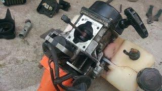 Бензокосилки ремонт своими руками 74