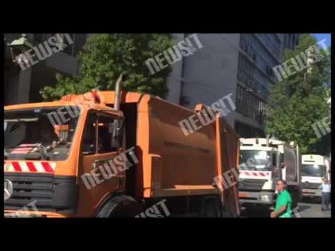 Video - Ολοκληρώθηκε η συγκέντρωση της ΠΟΕ - ΟΤΑ έξω από το υπ. Εργασίας