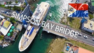 The main access into and out of the Simpson Bay Lagoon on the Dutch side of the island is the Simpson Bay Bridge which is...