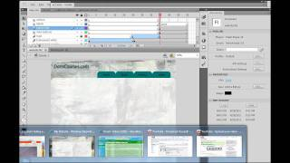 How to Build a Website in Flash CS5? - Part 10