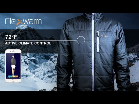 The First Heated Jacket You Can Control From Your Smartphone