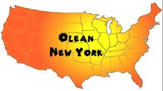 Olean (NY) United States  city pictures gallery : How to Say or Pronounce USA Cities — Olean, New York