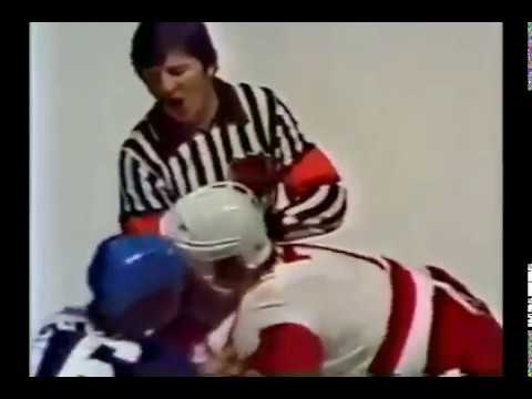 Maple Leafs - Red Wings rough stuff 2/19/79