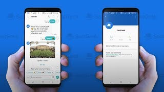 RCS Chatbot Demo for SeatGeek - Samsung Android Devices