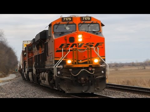 HD: Busiest Freight Railroad in America! BNSF's Marceline Mainline (Pt. 1)
