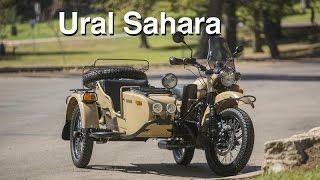 9. Ural Sahara sidecar motorcycle