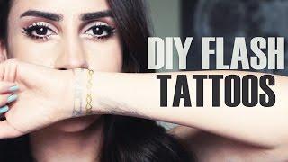 DIY Flash Tattoos | DIY-911 - YouTube