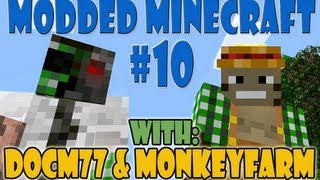 Modded Minecraft Automatic Crafting Machine - Deployers, Filters, Retrievers - Feed the Beast #10