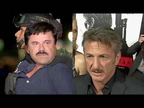 Μεξικό: Κατάθεση από τον Σον Πεν μετά την συνάντηση με τον «Ελ Τσάπο» θέλουν οι αρχές