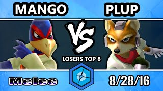 Shine 2016 SSBM – C9 Mango (Falco) Vs. PG | Plup (Fox) Smash Melee Losers Top 8