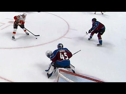 Video: Flames take advantage of Avalanche, score twice in a minute