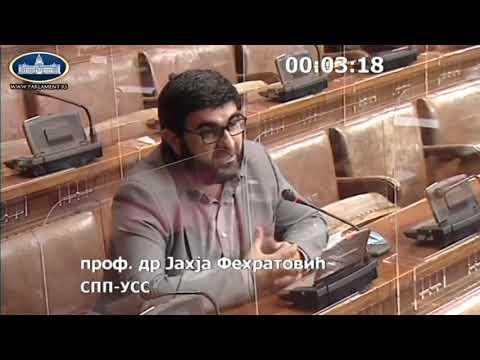 Obraćanje u Skupštini 29. 04. 2021. g. – Narodni poslanik SPP-a dr. Jahja Fehratović