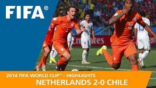Video NETHERLANDS v CHILE (2:0) - 2014 FIFA World Cup™ MP3, 3GP, MP4, WEBM, AVI, FLV September 2018