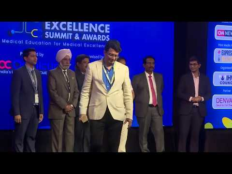 Congratulations Dr. Gokulnath Omnicuris CME Excellence Summit and Awards 2019