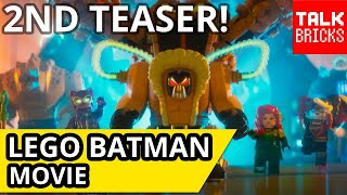 Welcome to TalkBricks! Today I'm breaking down the second teaser trailer for The LEGO Batman Movie! We're taking a look at all of the Secrets, Hidden Details...