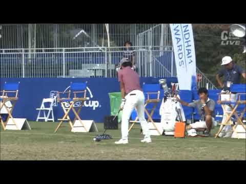 石川遼選手 練習風景