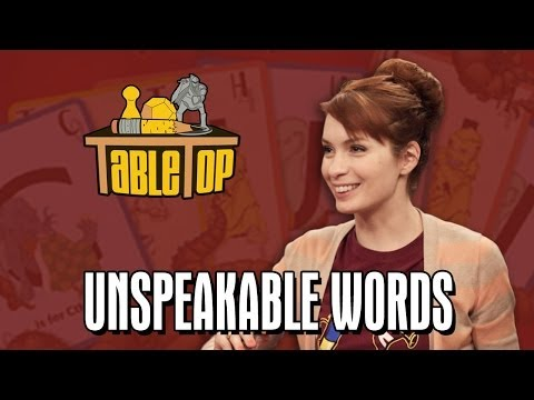 Unspeakable Words: Troy Baker, Erin Gray, and Felicia Day join Wil on TableTop SE2E15