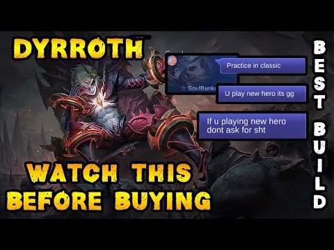 Watch This Before Buying Dyrroth - Mobile Legends Bang Bang