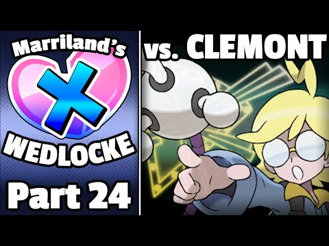 Pokémon X Wedlocke, Part 24: Clemontrosity!