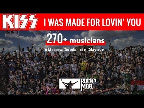 Kiss - I Was Made For Lovin' You. 270 музыкантов. Москва, 19 мая