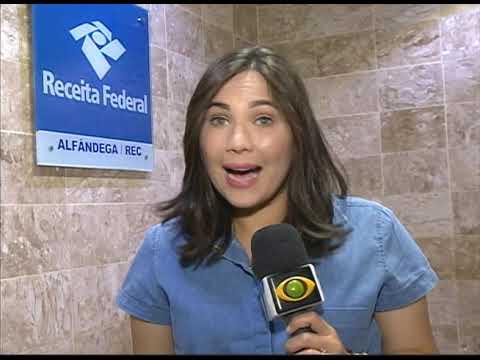 [JORNAL DA TRIBUNA] IPhones são apreendidos pela Receita Federal, no Aeroporto do Recife