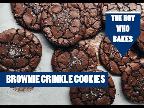 Brownie Crinkle Cookie Recipe - The Boy Who Bakes