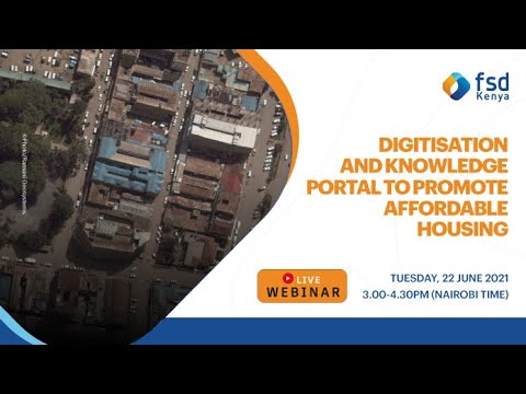 Digitisation and knowledge portal to promote affordable housing