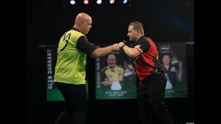 """Dimitri van den Bergh on MVG draw: """"With my private life, anything I've won tonight is a bonus"""""""