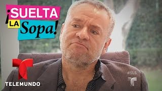 Video oficial de Telemundo Suelta La Sopa. José Alberto Castro cuenta si se sintió traicionado por Angelique Boyer y Sebastián...