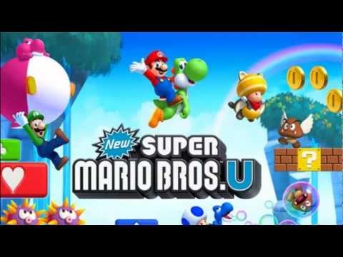Layer Cake Desert - World 2 - New Super Mario Bros. U OST