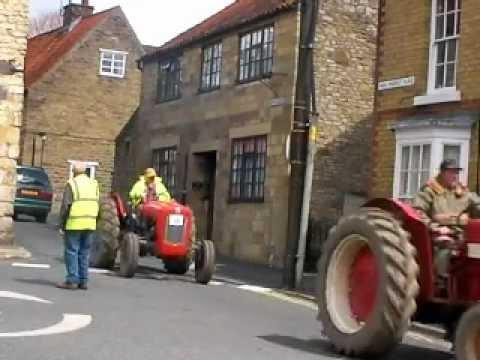 Beadlam Tractor Run 2012