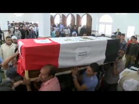 Αίγυπτος: Κηδεύτηκαν οι οκτώ αστυνομικοί